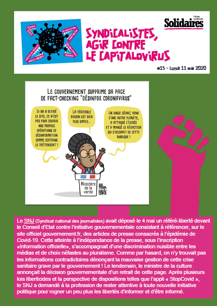 Bulletin Solidaires 15