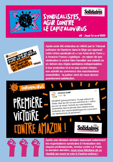 Bulletin Solidaires 8