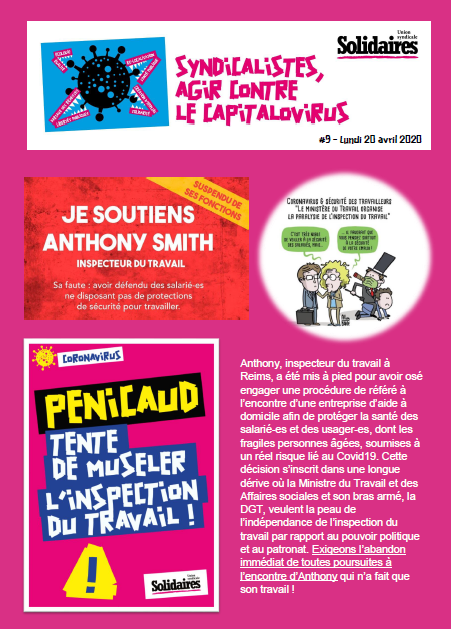 Bulletin Solidaires n9
