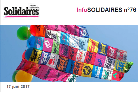PM infoSOLIDAIRES n76