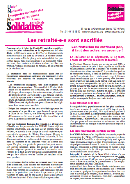 tract unirs 11 avril 2020
